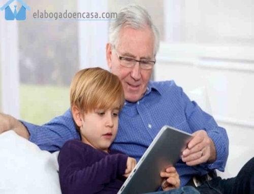 El régimen de visitas a menores por abuelos u otros parientes