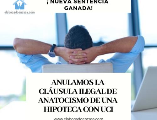 Hipotecas con UCI: Anulada la cláusula de anatocismo por la  que se aumentaba la deuda al cliente