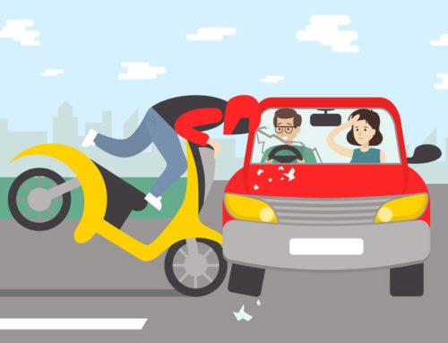Los accidentes de tráfico de vehículos asegurados en la misma compañía