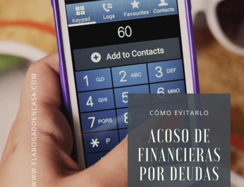 Por qué no sucumbir al acoso de bancos y financieras por el impago de una deuda