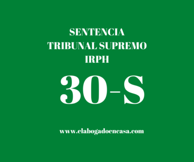 irph hipoteca