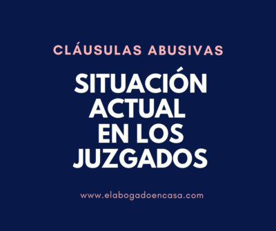 clausulas abusivas