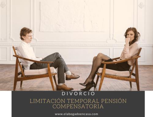 ¿ Hay límite temporal en el pago de la pensión compensatoria?