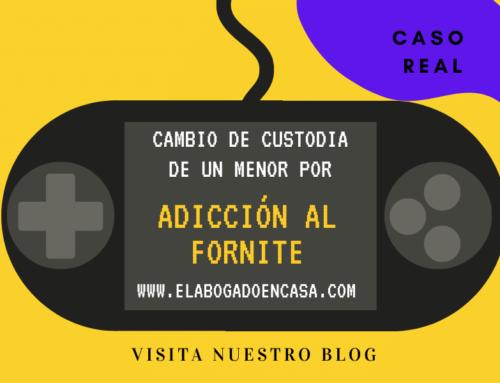 Modificada la custodia de un menor por su adicción al juego Fornite bajo la custodia del padre