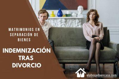 indemnizacion separacion matrimonio
