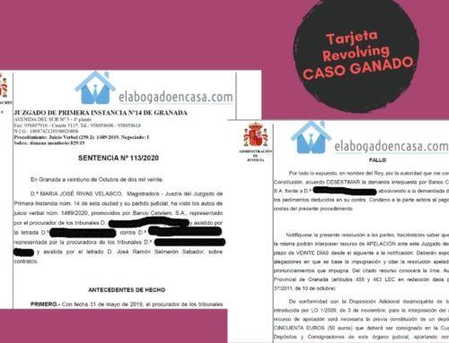 Caso de éxito: Anulamos deuda por tarjeta revolving con Banco Cetelem