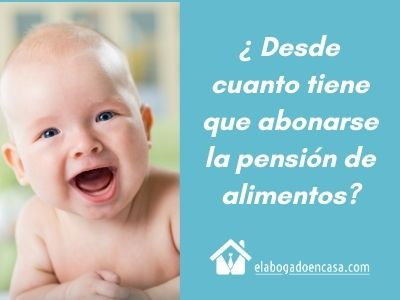 pension de alimentos
