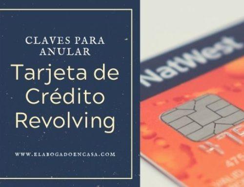 Claves para recuperar el dinero pagado de una tarjeta revolving