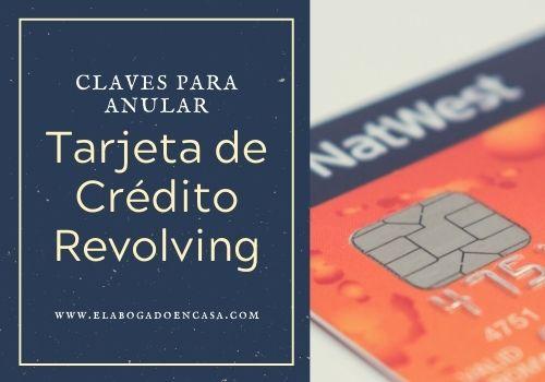 tarjeta credito revolving