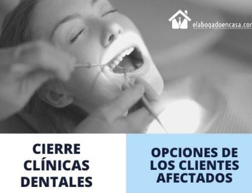 El cierre de clínicas dentales quebradas y opciones de los clientes afectados