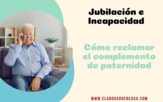 complemento paternidad pension jubilacion